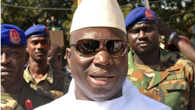 Gambie : la CEDEAO encercle Jammeh qui se bunkerise