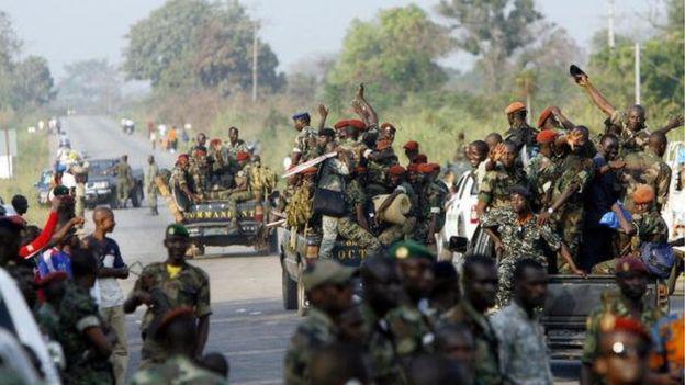 Côte d'Ivoire : les militaires grognent, mutinerie à Bouaké, Daloa et Korhogo