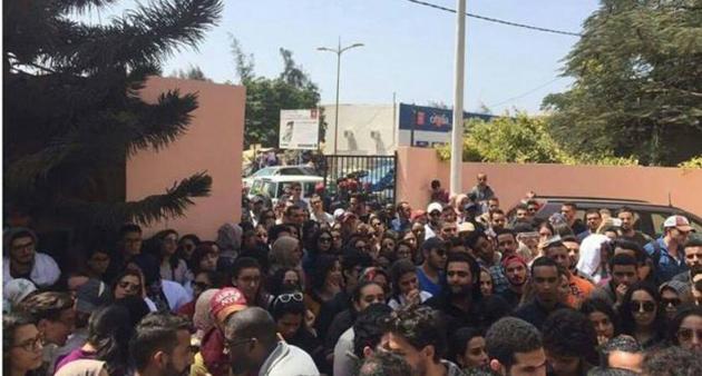EXPULSES DE LEUR SIEGE DU POINT-E : Des Marocains s'en prennent à leur ambassadeur