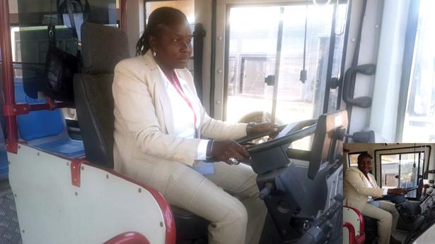 TRANSPORT EN COMMUN : à la découverte de ces femmes au volant de bus
