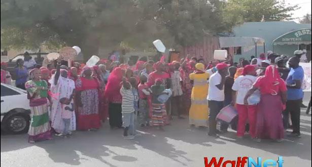 Pénurie d'eau à Rufisque : les populations crient leur soif (Vidéo)