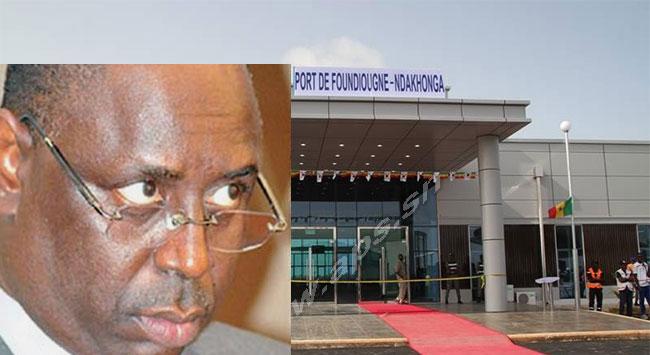 Inauguré depuis près de deux ans par Macky : le port de Foundiougne-Ndakhonga toujours pas fonctionnel