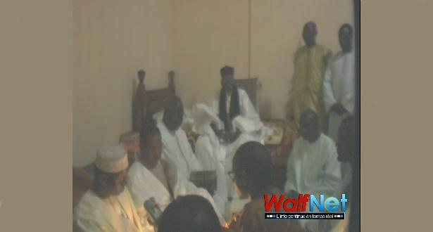 Sidi Lamine NIASS rend visite à Serigne Sidy Makhtar MBACKE  (vidéo)