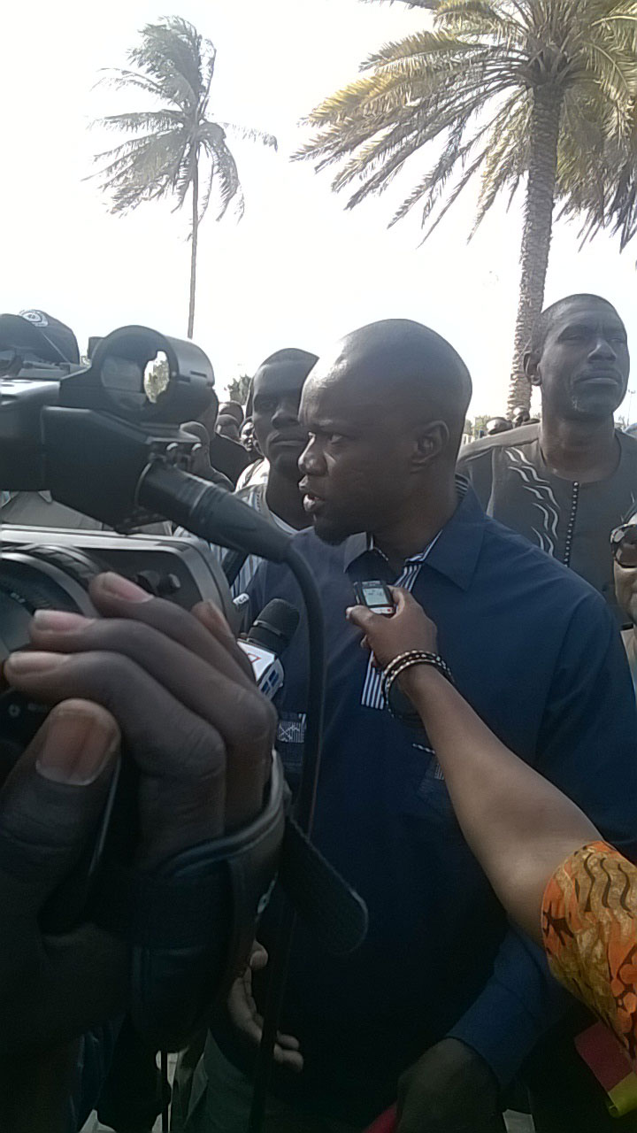 Ousmane SONKO :  «  je ne veux pas mettre ma sécurité entre les mains de Aly Ngouille NDIAYE »