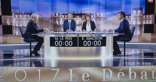 Macron – Le Pen : le débat vire au pugilat