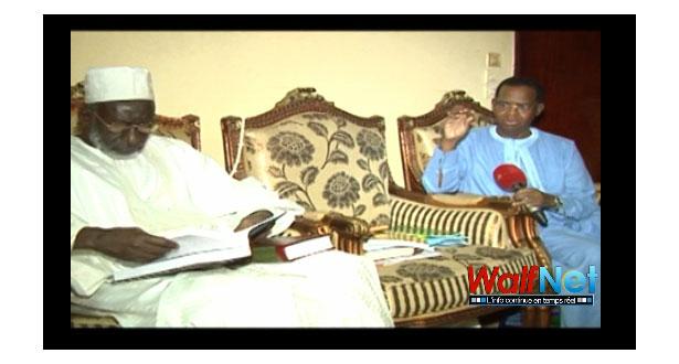 Sidi Lamine NIASS rend visite à la famille Omarienne (Vidéo)