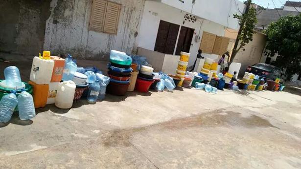 Pénurie d'eau à Grand-Yoff: en attendant l'émergence, les populations veulent boire