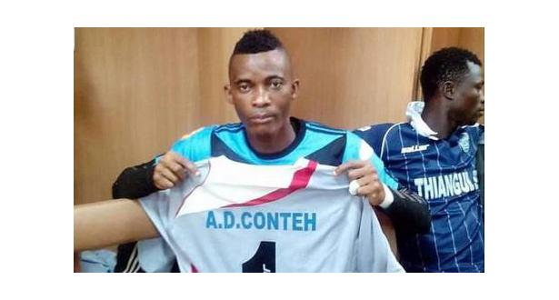 Sierra Leone : le gardien de but Conteh est mort à 25 ans !