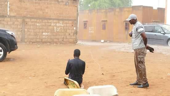 Drame au stade Demba DIOP : Talla SYLLA prie sous une forte pluie