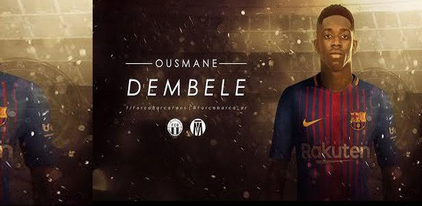 Ousmane Dembélé : «Je ne suis pas là pour remplacer Neymar … Il y a une classe d'écart entre lui et moi «