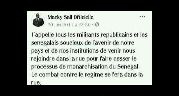 Nomination du maire de Guédiawaye : le candidat Macky aurait manifesté contre le président SALL