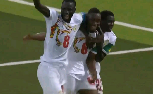 AFRIQUE DU SUD-SENEGAL: ouverture du score par Diafra SAKHO