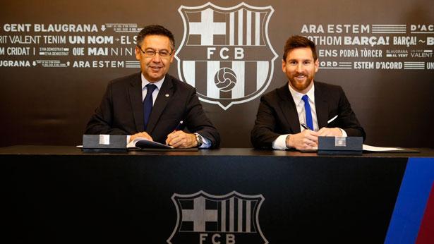 Barça : fin de suspense, Messi prolonge