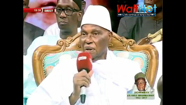 Déclaration de Me WADE : des marabouts annoncent une plainte contre l'ancien chef de l'Etat