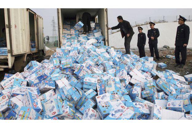 Jeté en Chine et en Europe, le lait contaminé atterrit au Sénégal