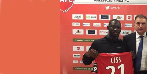 Saliou CISS retourne en Ligue 2 pour jouer