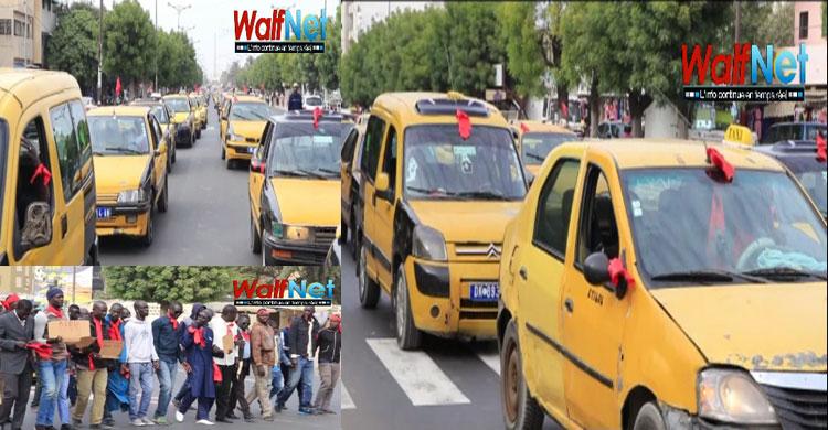 Marche: Les taximen ont battu le macadam (vidéo)