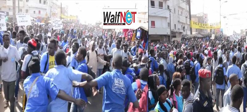 ZIGUINCHOR: Les élèves sermonnent l'Etat et les enseignants