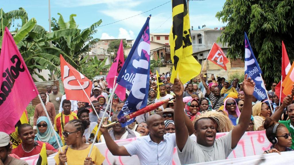 Mayotte: Très forte mobilisation des habitants de ce département français