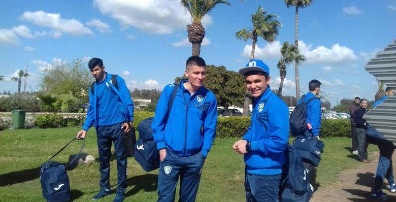 Adversaires des Lions, les Ouzbeks débarquent à Casablanca (Photos)