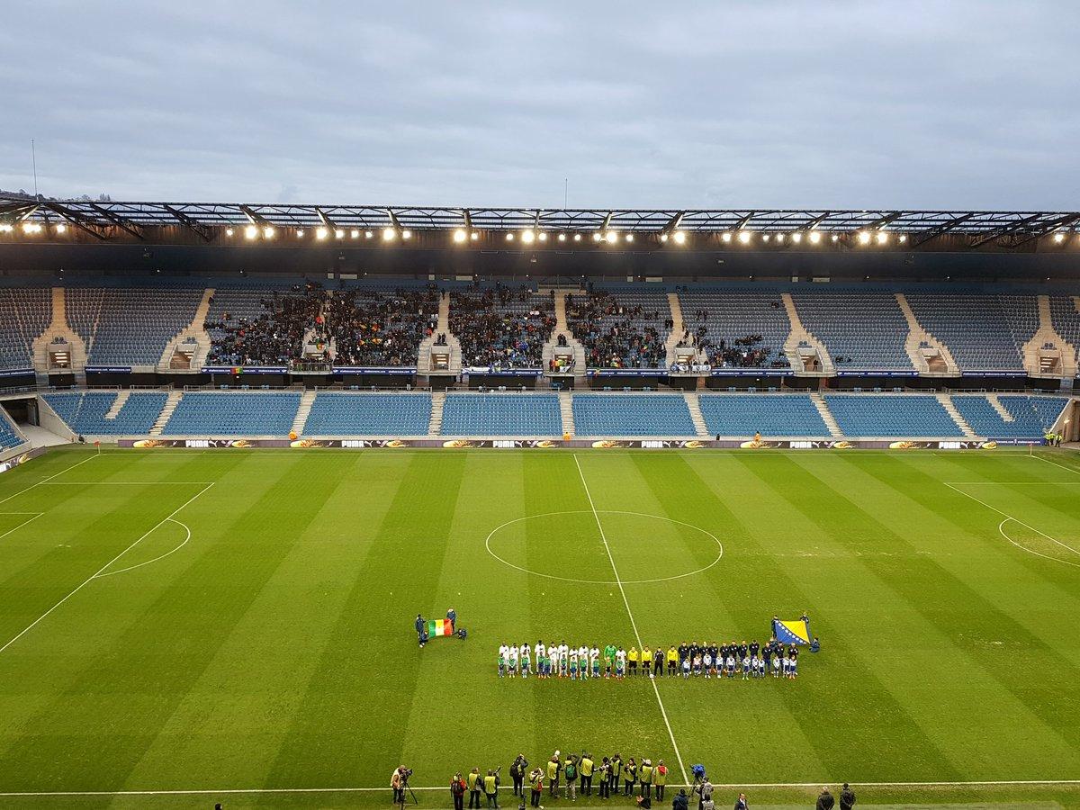 Sénégal -Bosnie : un autre match nul