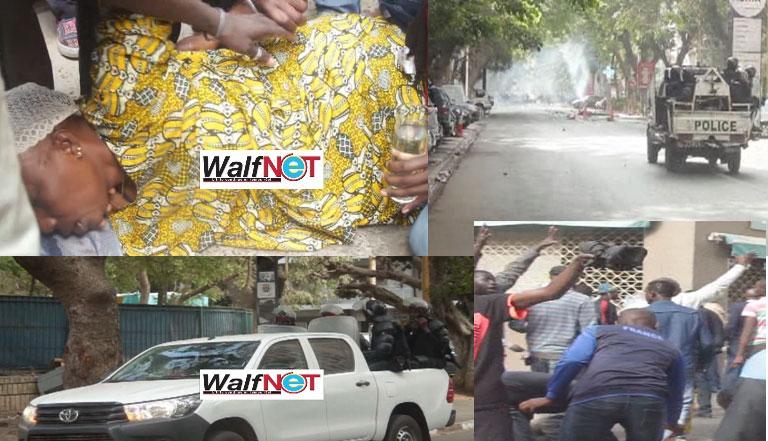 Le gaz lacrymogène de Macky : de la pire espèce