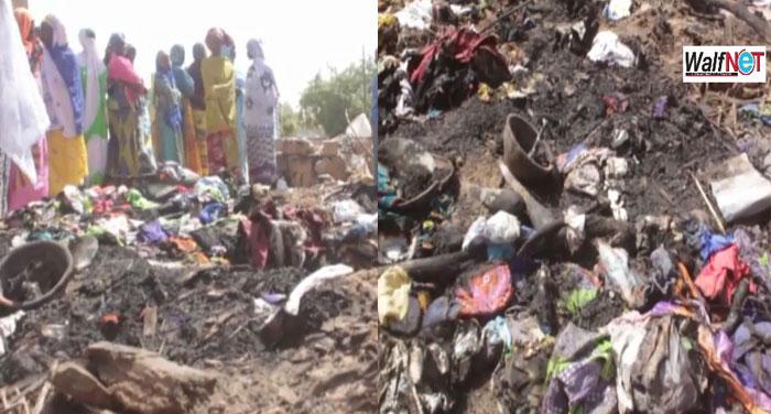 Yarakh :  Un incendie fait un mort
