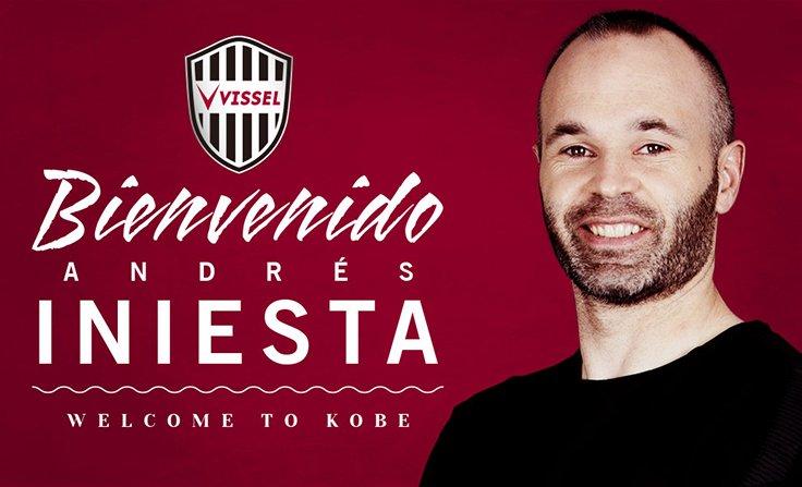 Japon : Andrés Iniesta s'engage avec le Vissel Kobe
