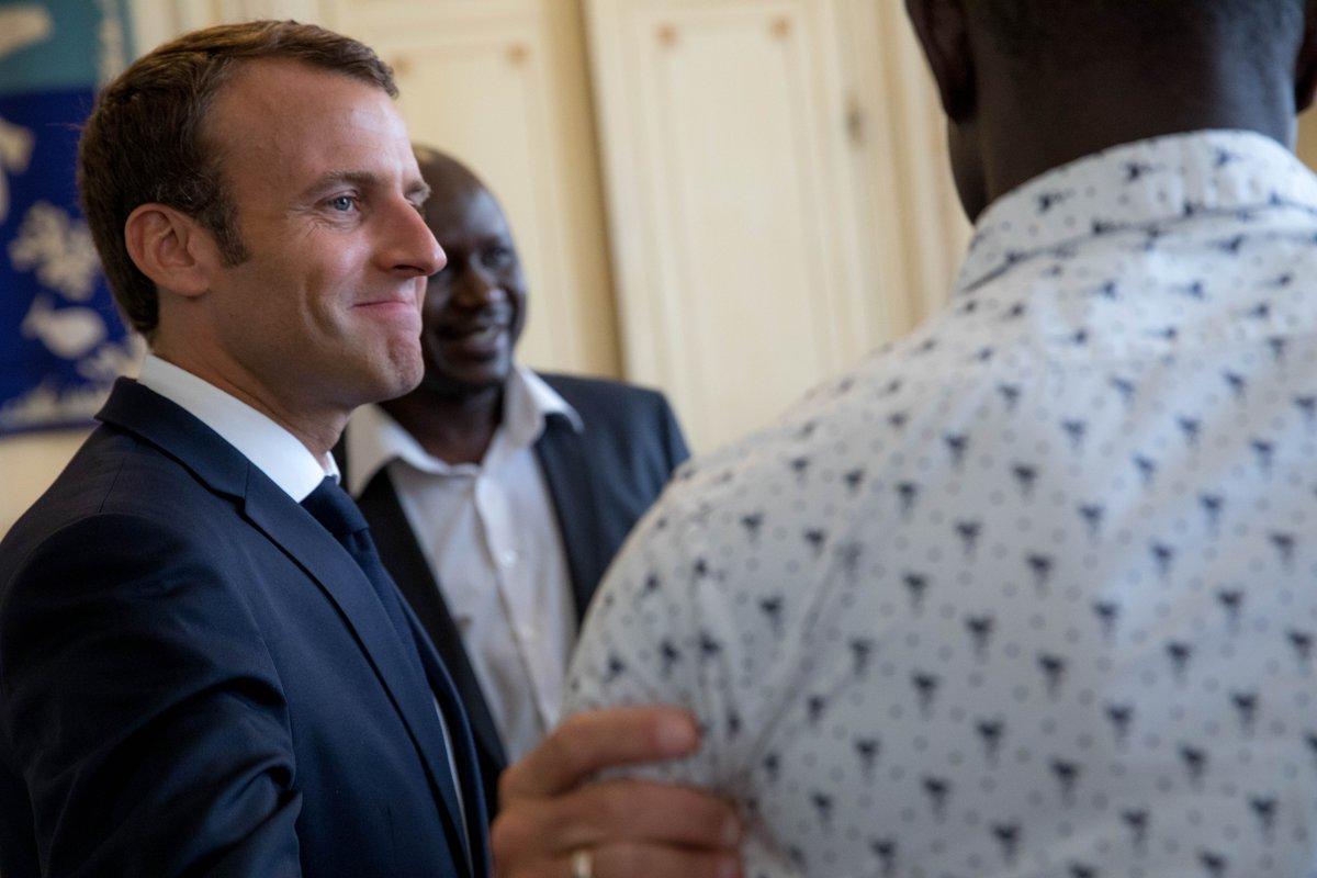 La France se jette sur Mamoudou  Gassama qui sera naturalisé