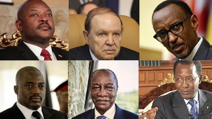 Les chefs d'Etat africains et la tentation du troisième mandat