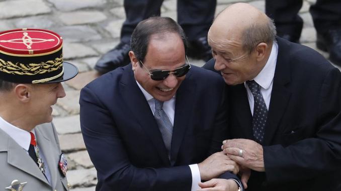 Egypte: la Libye au cœur de la visite de Jean-Yves Le Drian au Caire