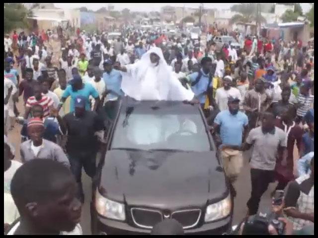 Kaolack : retour triomphal de imam NDAO  (vidéo)