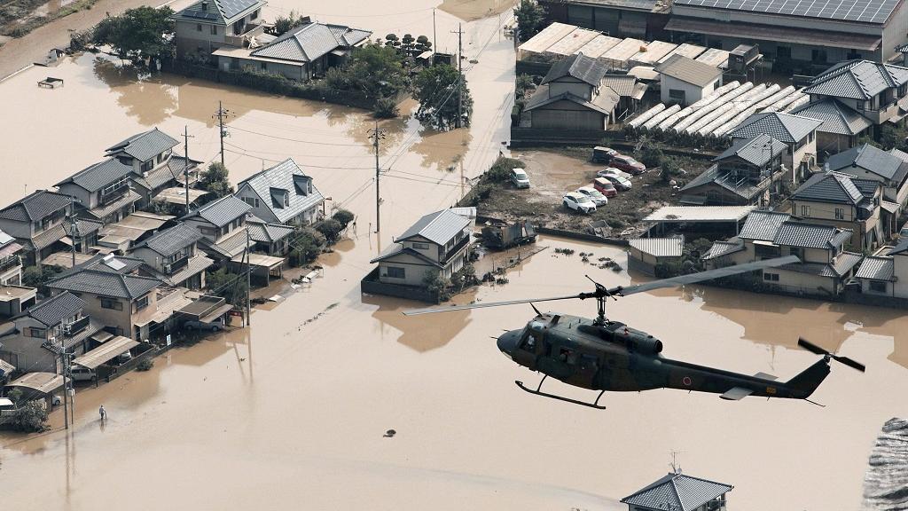 Intempéries au Japon : le bilan officiel provisoire monte à 122 morts