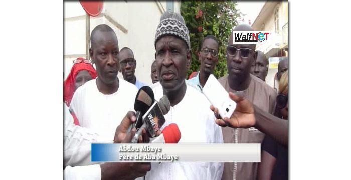 Arrestation de Babacar MBAYE dit Aba, son père dénonce un « abus de pouvoir de la police » (Vidéo)