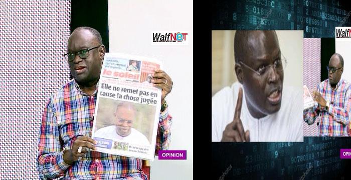 Me El Hadji DIOUF brûle le quotidien Le Soleil (vidéo)