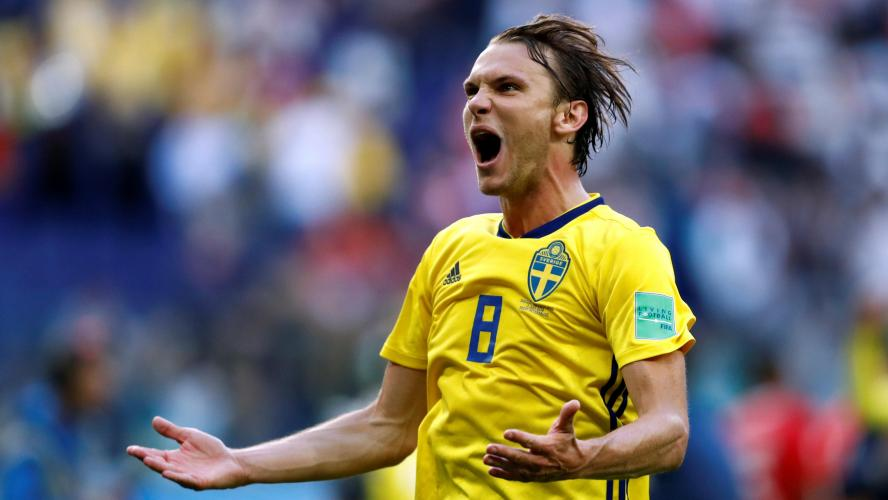 8e finale de la CM : la Suède bat la Suisse et file en quarts de finale (1-0)