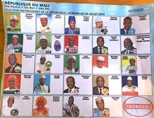 Sans parrainage et avec le bulletin unique, la démocratie malienne s'illustre