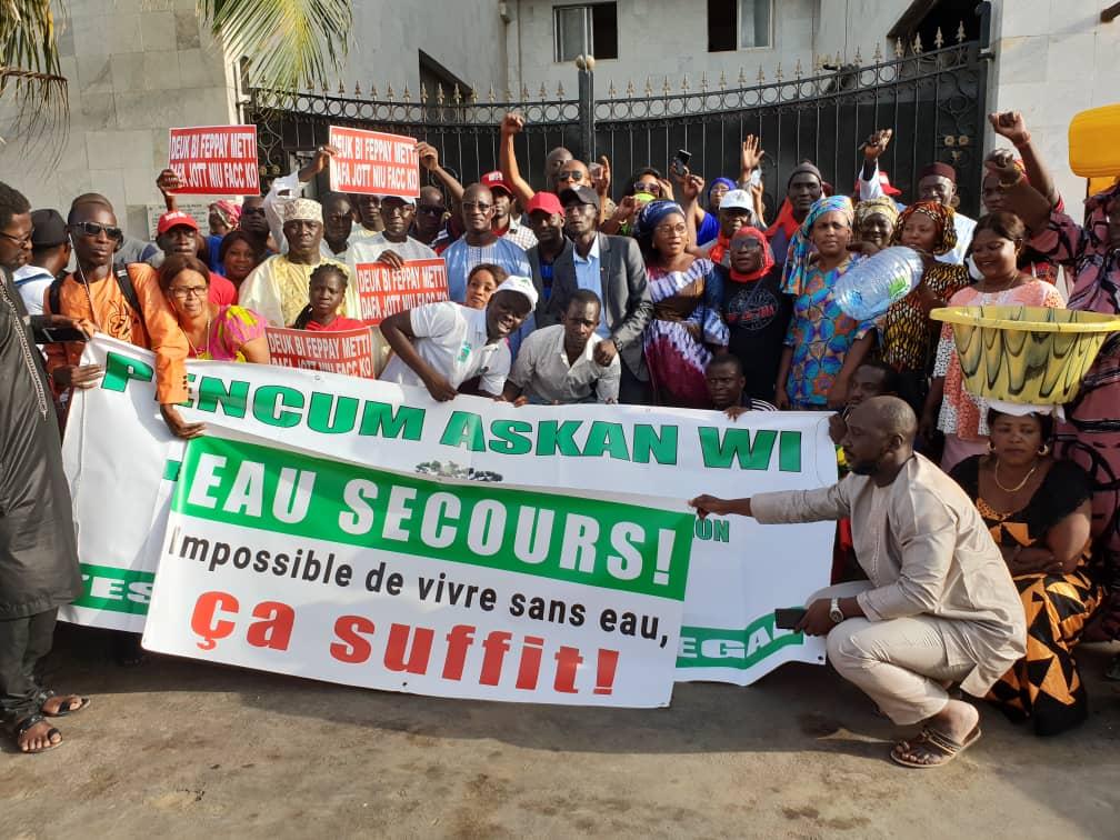Approvisionnement en eau de la capitale: La société civile doute des chiffres du gouvernement
