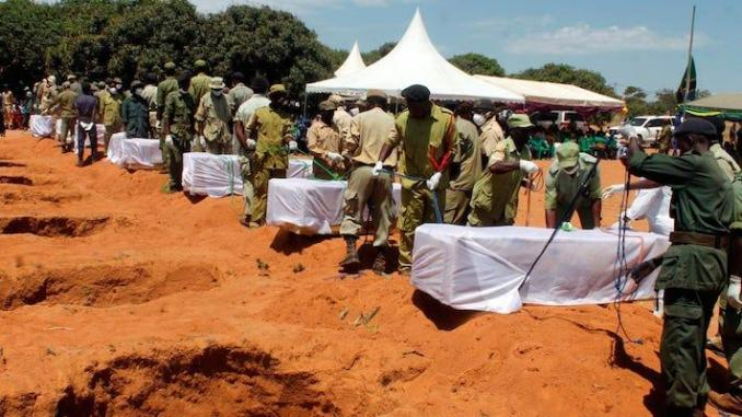 Naufrage : la Tanzanie enterre ses 224 morts