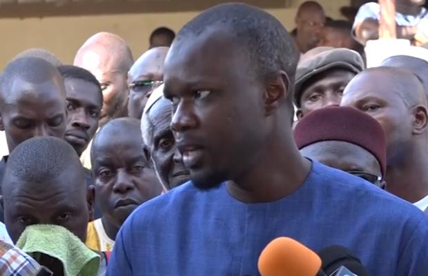 SONKO: «Macky, un incapable dont la seule force est de lire des discours écrits par d'autres»
