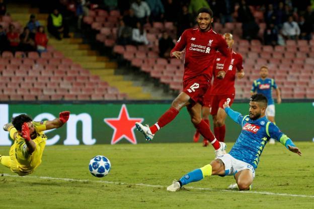 Naples de KOULIBALY fait tomber Liverpool et Sadio MANE