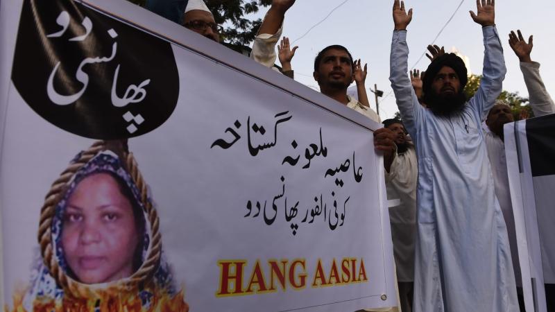 Asia Bibi : un tribunal pakistanais annule sa peine de mort pour blasphème