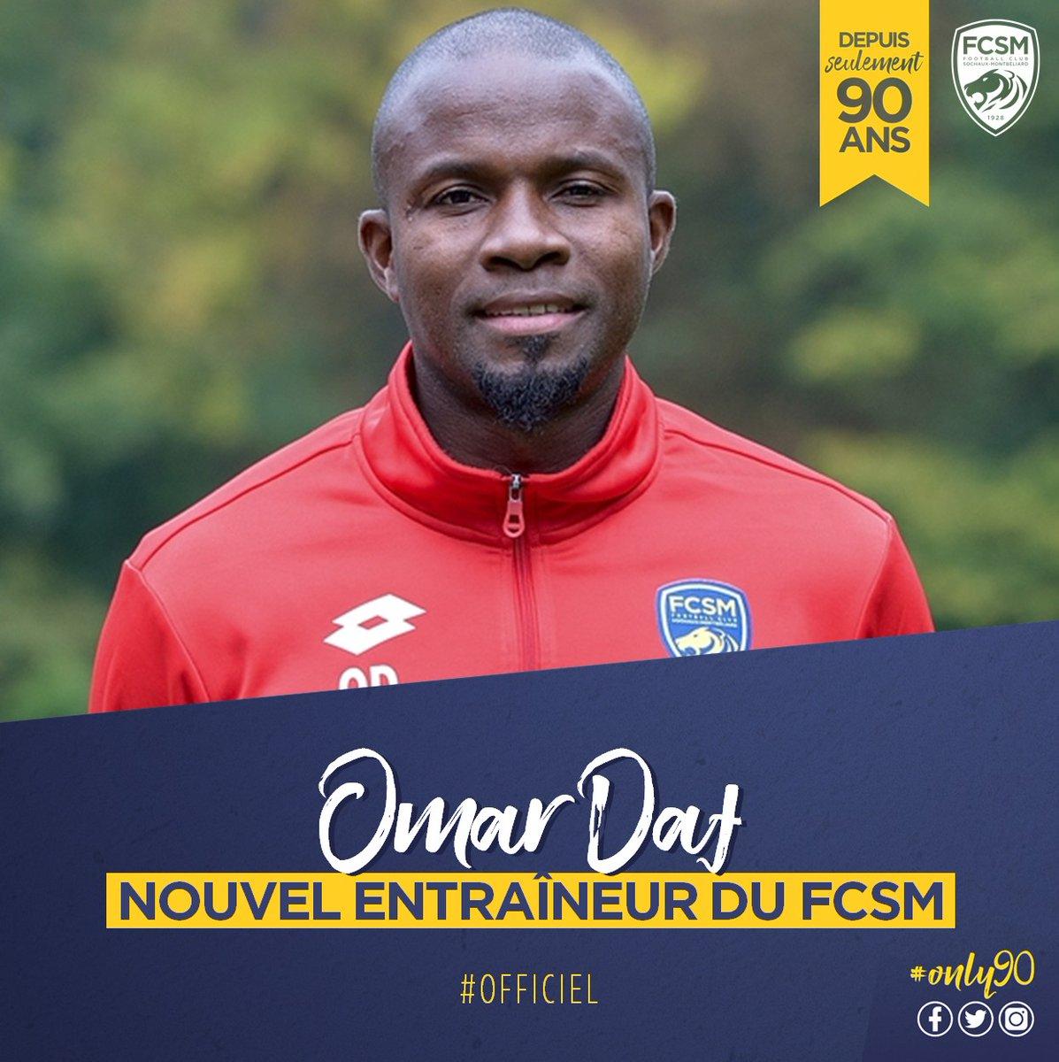Sochaux : Omar DAF nommé entraîneur