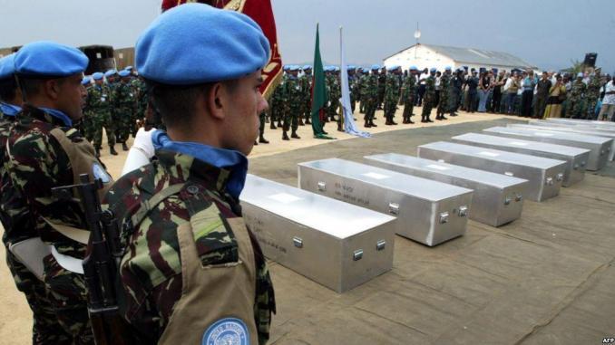 RDC : Sept casques bleus tués