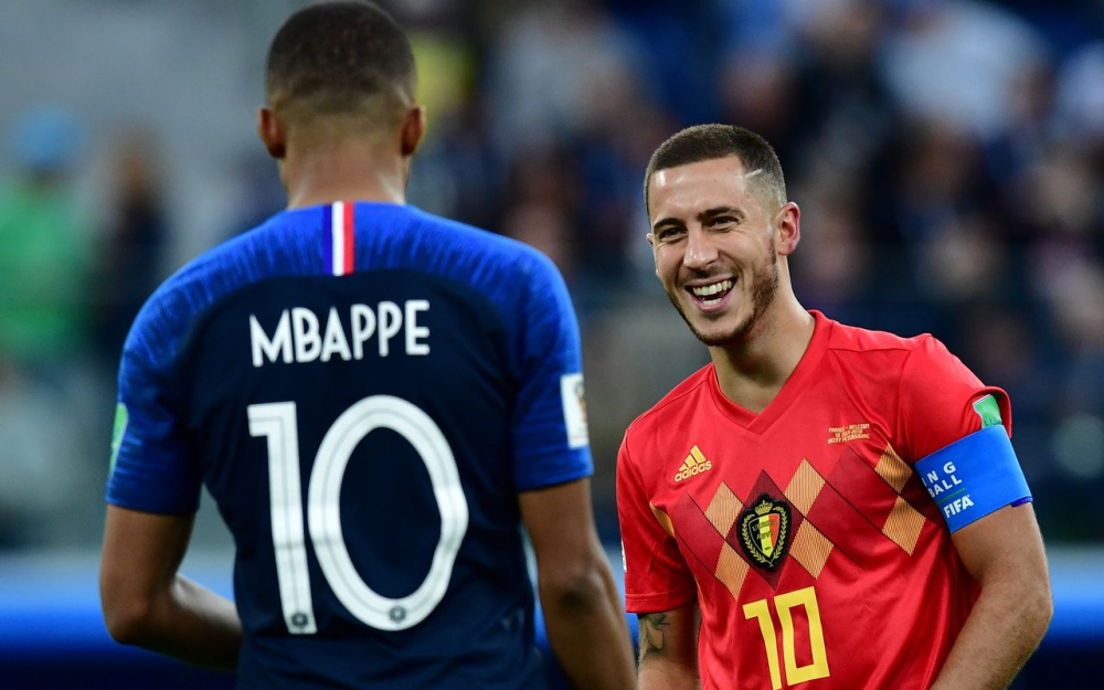Ballon d'or 2018 : Hazard vote Mbappé