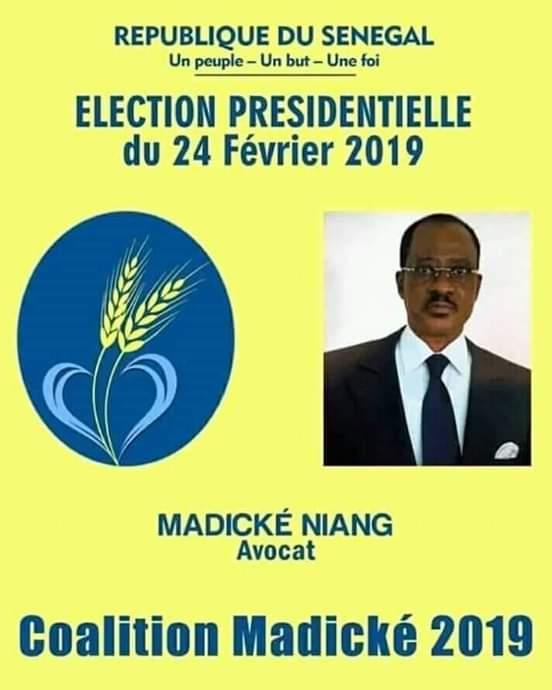 Présidentielle 2019 : Madické snobe le C25 et lance la polémique des couleurs