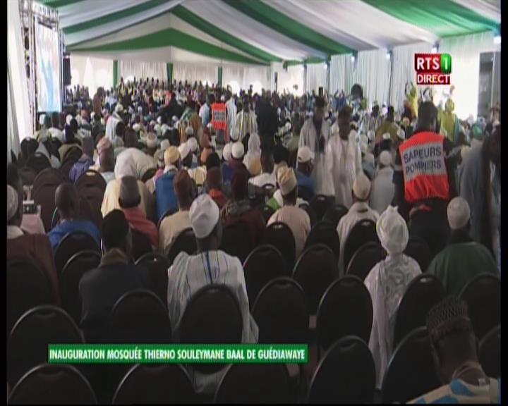 Inauguration de Mosquée à Guédiawaye : A la place de Dieu, Macky glorifié