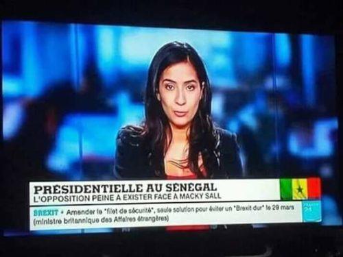Présidentiellesénégalaise : France24, RFI, Tv5… les médias français à fond derrière leur candidat