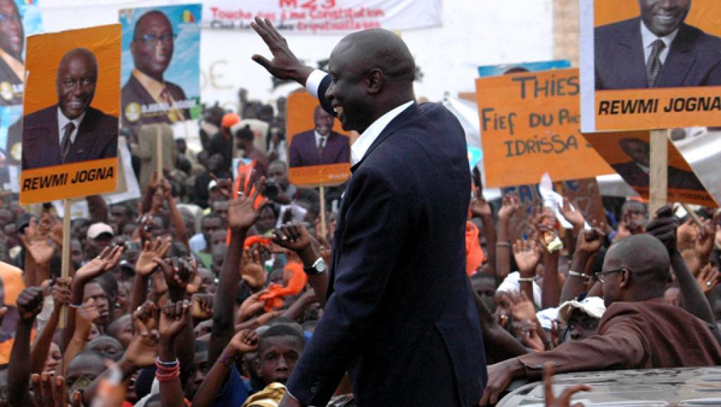Jour de Campagne : Thiès aux pieds d'Idrissa SECK