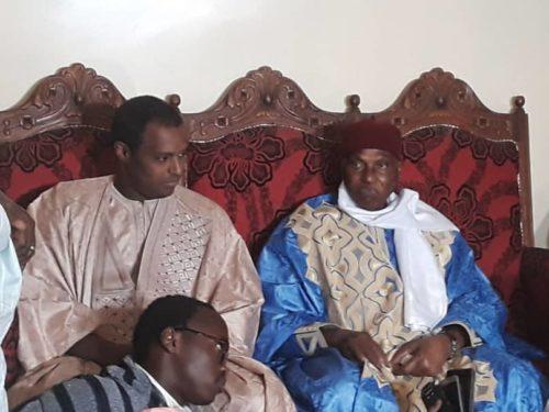 Me Abdoulaye WADE chez Sidy Lamine NIASS (Photos)